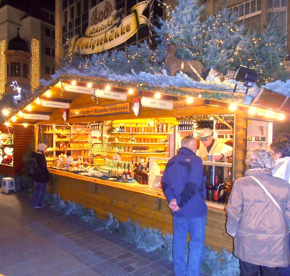 Leipziger Weihnachtsmarkt.Leipziger Weihnachtsmarkt